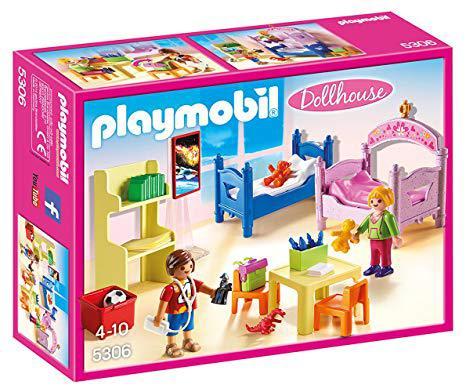 chambre enfant playmobil