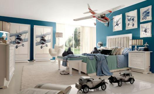 chambre garcon avion