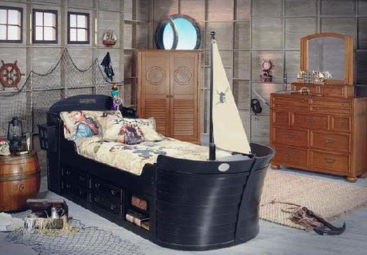 chambre pirate des caraibes
