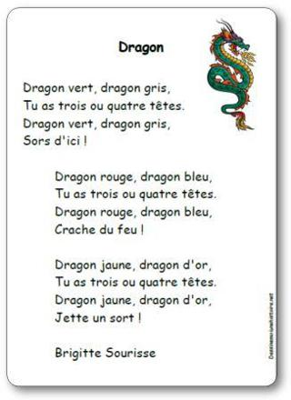 chanson dragon