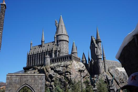 chateau de harry potter