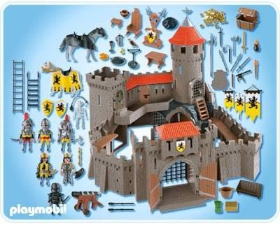 chateau du lion playmobil