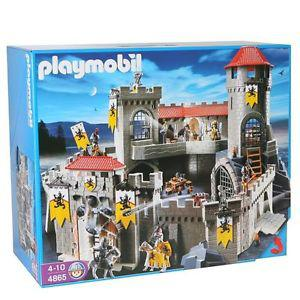 chateau fort du lion playmobil