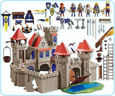 chateau fort playmobil 3268