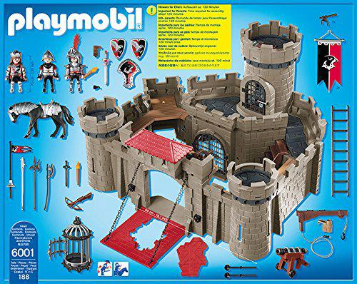 chateau fort playmobil 6001