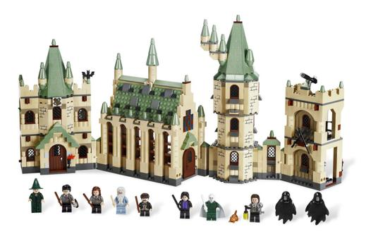 chateau harry potter lego