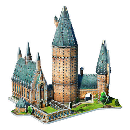 chateau harry potter puzzle