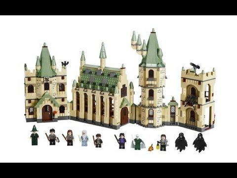 chateau lego harry potter