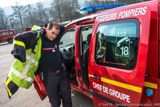 chef des pompiers