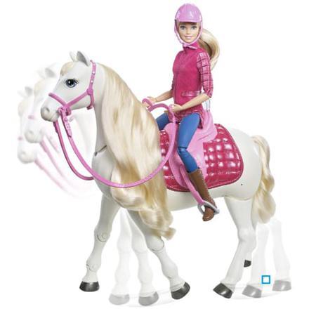 cheval barbie qui marche