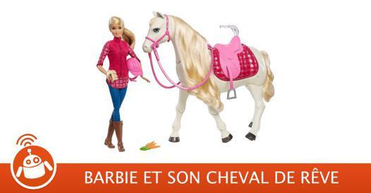 cheval barbie