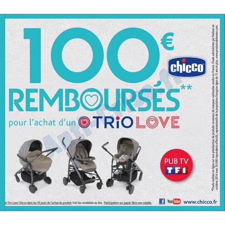 chicco remboursement