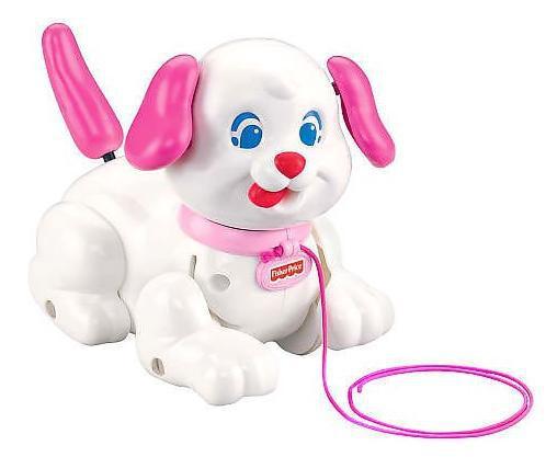 chien a promener jouet
