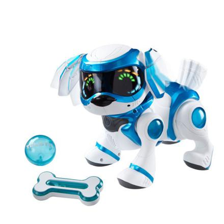 chien robot teksta bleu