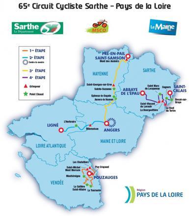 circuit de la sarthe 2017 les etapes