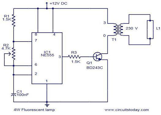 circuit fluo