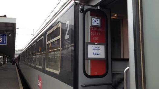 clermont paris train