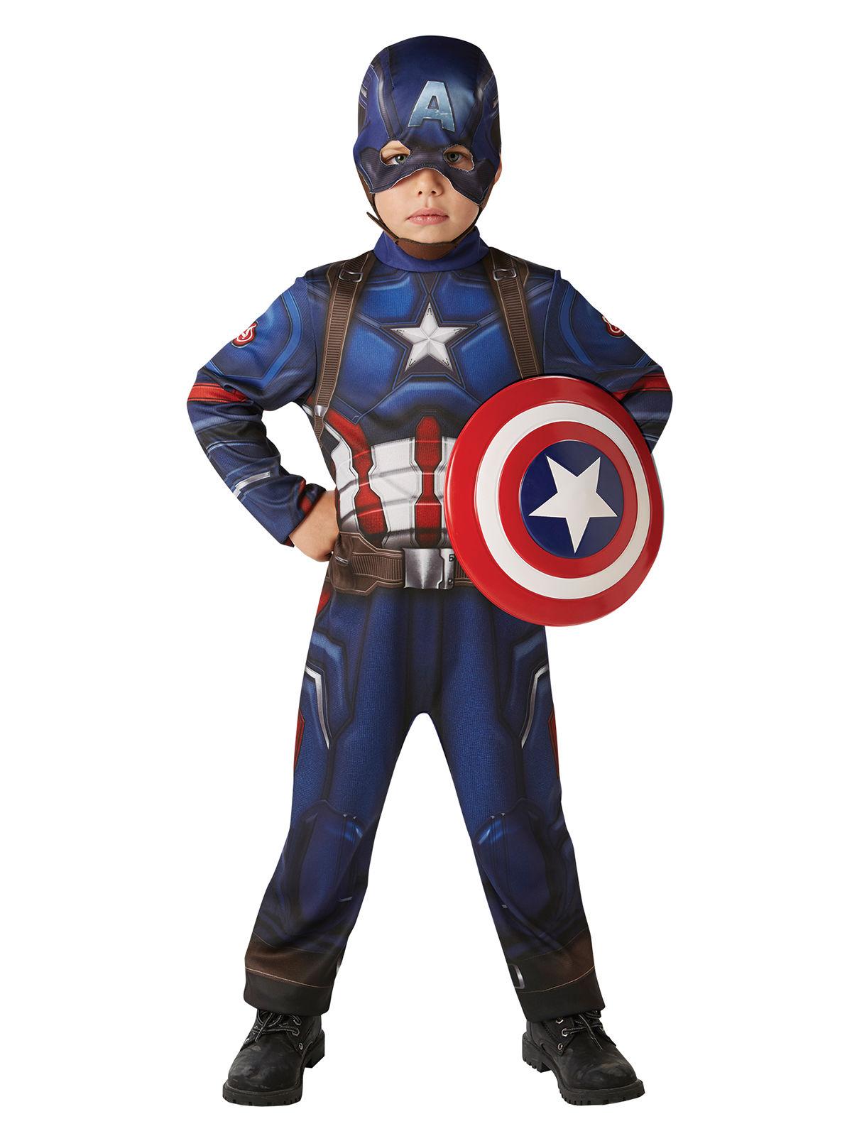 deguisement captain america avec bouclier