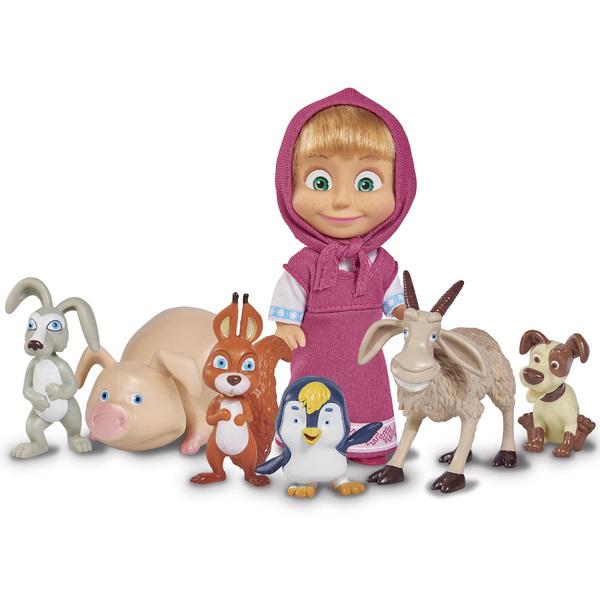 figurine masha et michka