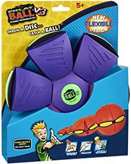 frisbee qui se transforme en ballon