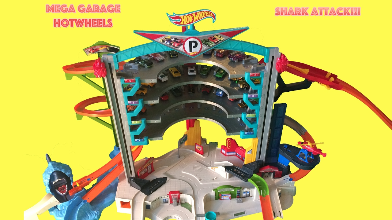 garage hot wheels requin