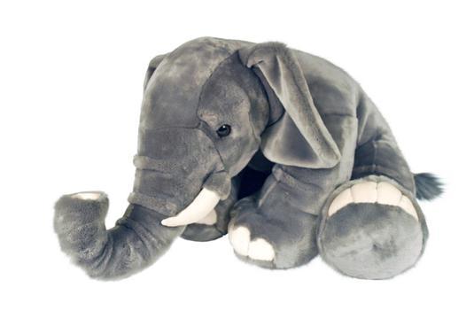 grosse peluche elephant