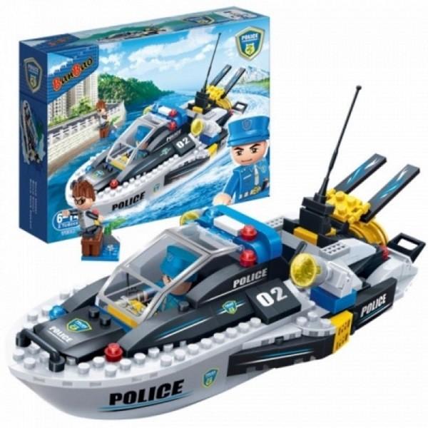 jeux de bateau de police