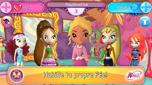 jeux des winx gratuit