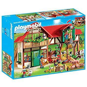 la grande ferme playmobil