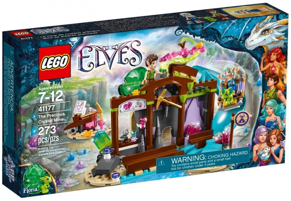 la mine de cristal lego elves