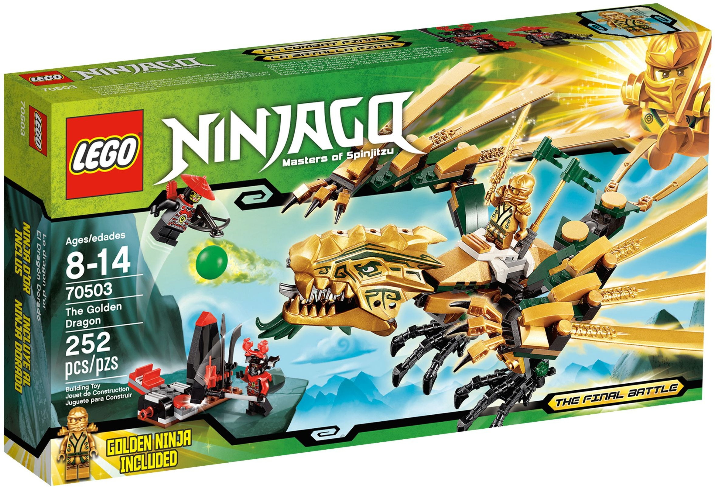 lego ninjago dragon d or