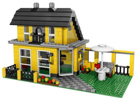 maison de lego