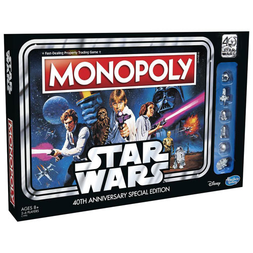 monopoly star wars 40 ans