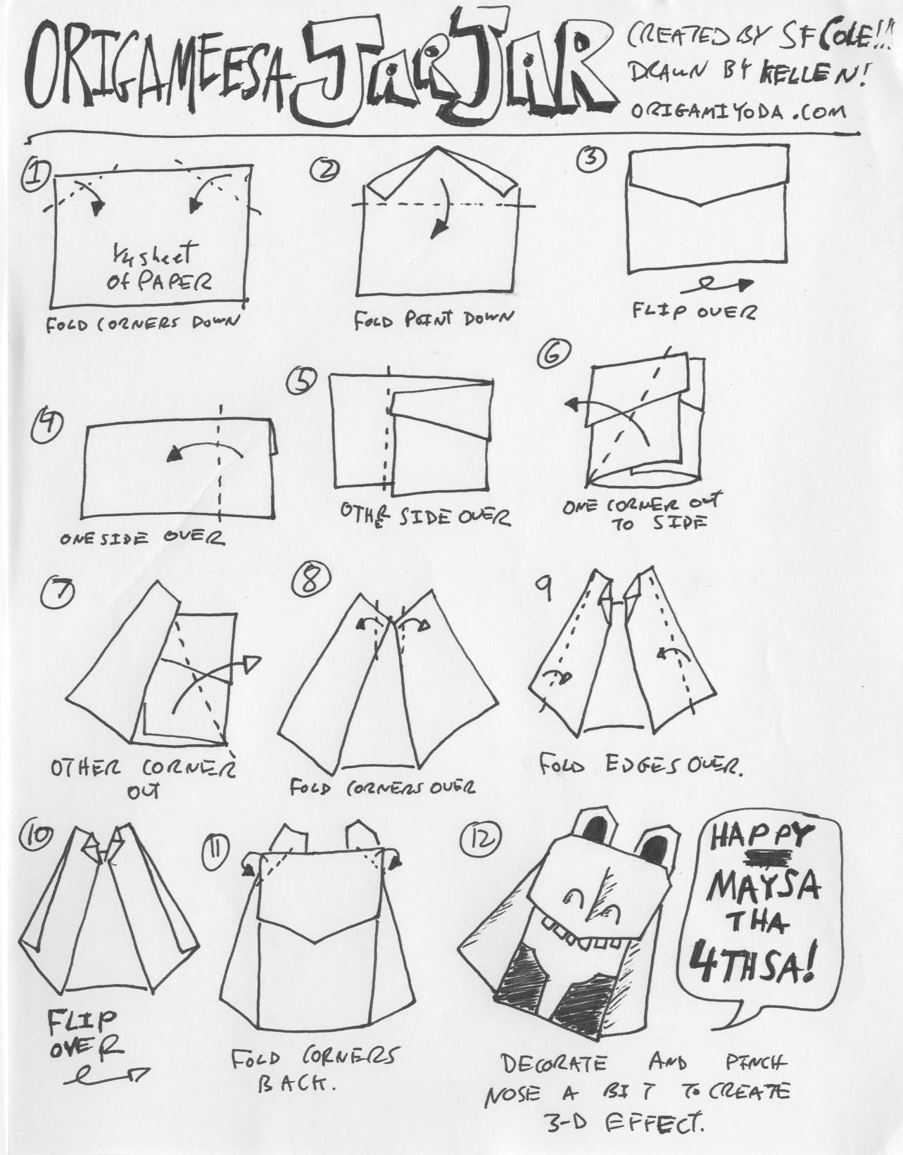 origamie star wars