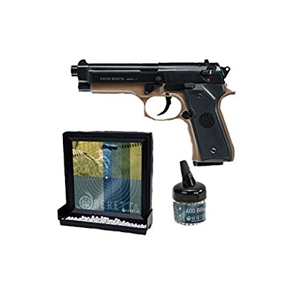 pistolet a bille avec cible