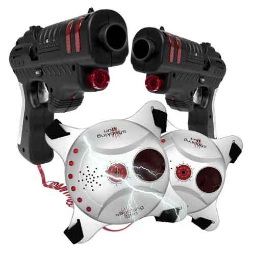 pistolet laser avec gilet