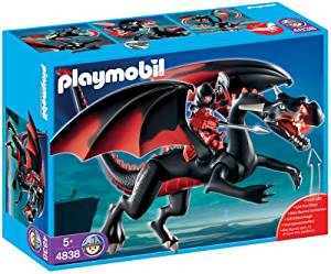 playmobil dragon noir