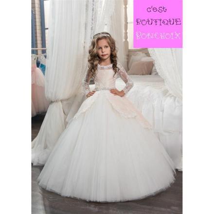 robe de princesse petite fille