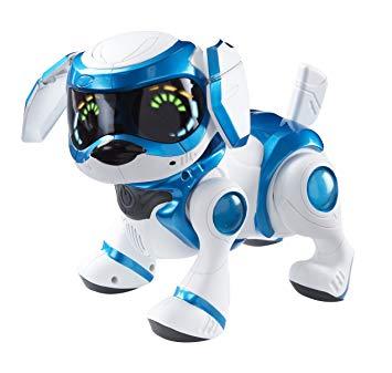 robot chien teksta