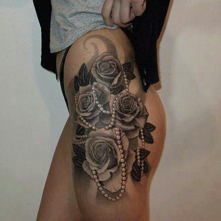 tattoo perles