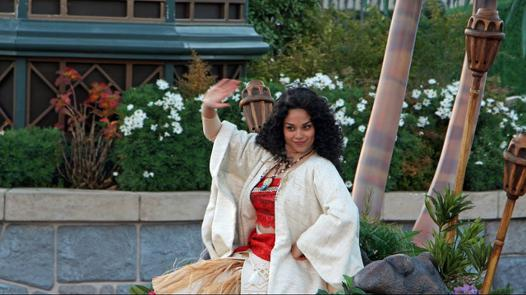 vaiana disneyland paris