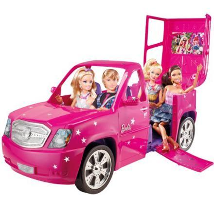 vehicule barbie