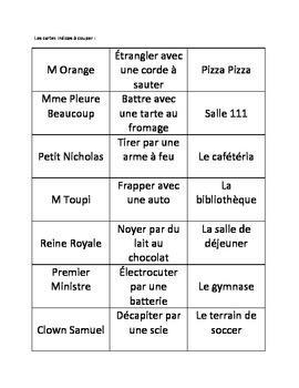 cluedo en francais