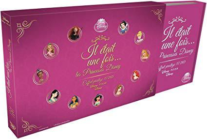 coffret dvd disney princesse