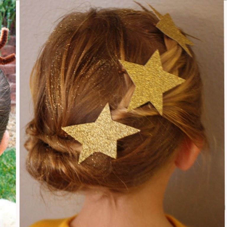 coiffure de noel pour petite fille