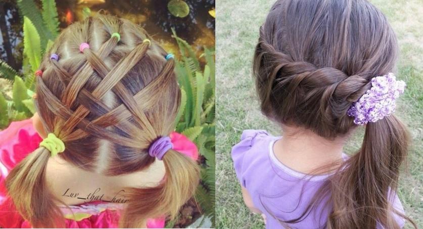 coiffure petite fille 5 ans