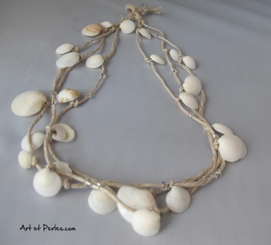 collier de coquillage