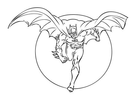 coloriage en ligne batman