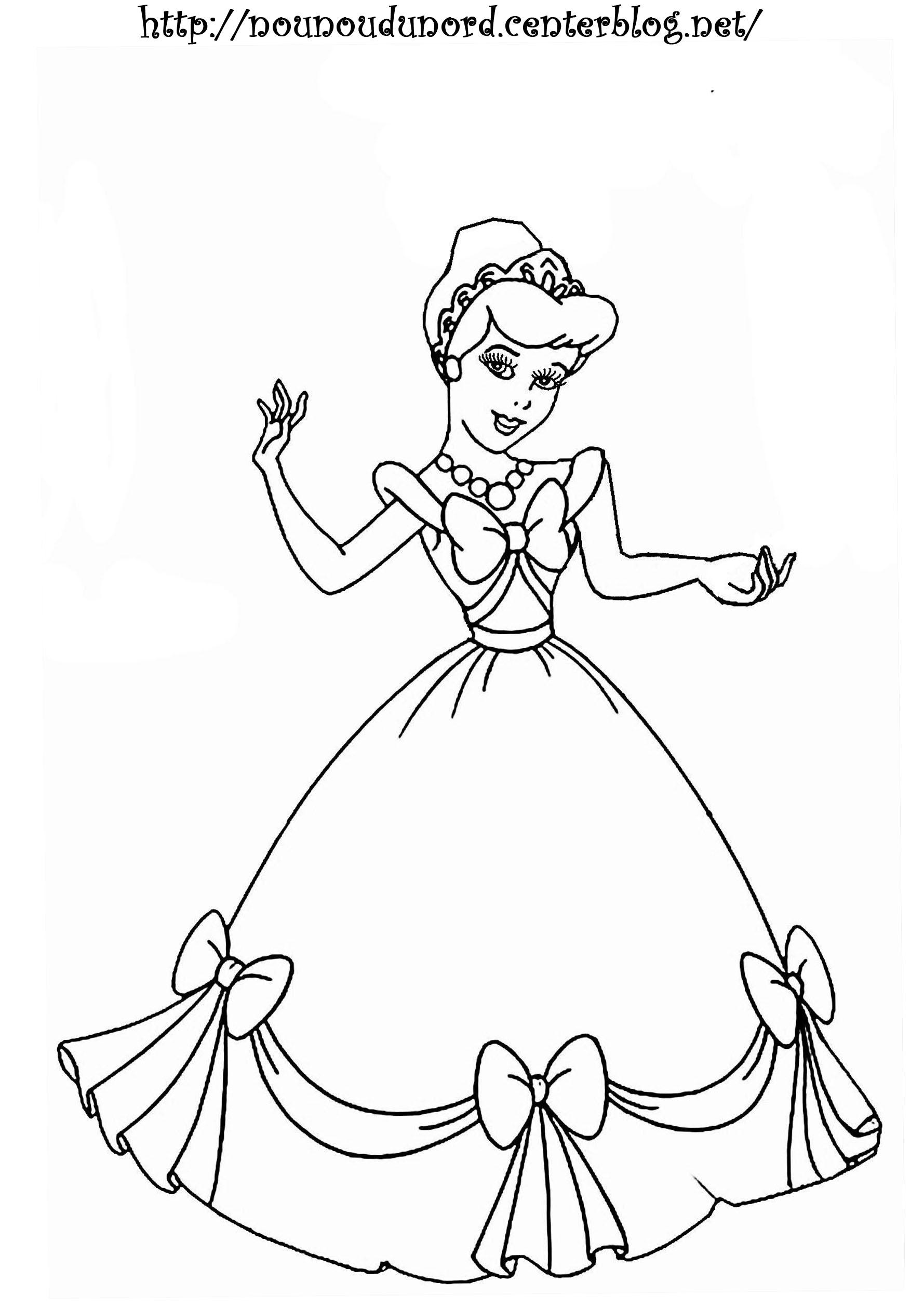 coloriage en ligne princesse gratuit