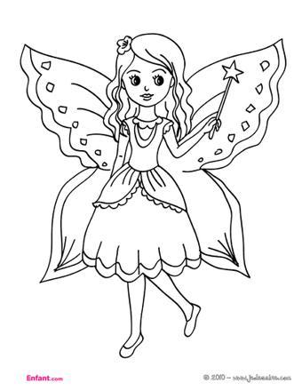 coloriage fille 8 ans